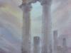 Дар Геры. Присутствие1. 2014, акварель на бумаге 50Х34 Gift of Hera. Prisutstvie1. 2014, watercolor on paper