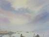На берегу. 2018г., акварель на бумаге, 55Х37