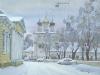 Зима в Москве. 2005г. 45Х60