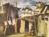 Гороховецкий дворик. 1989г. 44Х64
