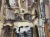 Дворик в Каунасе. 1989г. 62Х43