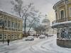 Хохловский переулок. 2007г. 45Х64