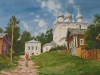 Лето в Юрьевце. 2001г. 45Х65