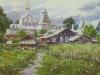 Ростов. Вид с Подозерки. 2012г. 45Х65