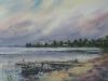 Озеро Неро 1. 2013г., акварель на бумаге, 45Х65