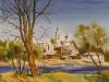 Весенний Мышкин. 1994г. 51Х69
