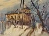 Улочка в кашине. 1993г. 45Х65