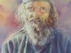 Монах Милевое из монастыря Режевичи. 2017г., акварель на бумаге,56Х37