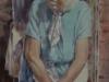 Баба Клава, 2016г., акварель на бумаге, 66Х46