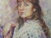 Портрет Елены 3. 2012г. б.акв. 60Х45