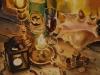 Натюрморт со свечами. 2000г. 65Х45