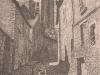 Улица в Божанси. 1993 24Х18