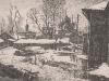 Весна в Угличе. 1993г. 17Х23