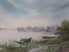 Озеро Неро 5. 2015г., акварель на бумаге, 36Х52