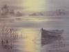Спокойствие. 2016, акварель на бумаге, 35Х50 Calme. 2016, aquarelle sur papier, 35x50