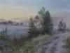 Дорога в Савельево. 2016г., акварель на бумаге, 45Х60