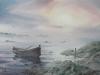 Северный Свет. 2014г., акварель на бумаге, 45Х60