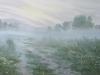 Утренний туман. 2010г. 45Х60