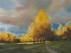 Осенний сквер. 1997г. 45Х65