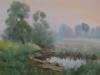Старый пруд. 1997г. 43Х64