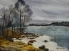 Залив в Хельсинки. 2004г. 45Х62