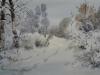 Зимний день. 2002г. 43Х65
