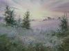 Туманы в Савельево. 2014г., акварель на бумаге, 45Х60