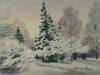 Зимний сквер. 1998г. 25Х36