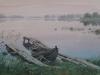 Утро в Заонежье. 2003г. 43Х65