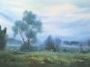 Утро в Савельево. 1989г. 42Х64