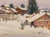Зима на Кенозере. 2001г. 42Х64