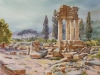 Храм Диоскуров в Агридженто. 2013г. б.акв., 45Х60