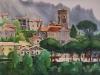 Город Равелло. 1994г. 50Х70