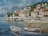 Утро в Перасте. 2013, б.акв., 45Х60 Morning in Perast. 2013, watercolor on paper.