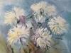 Белые хризантемы 1. 2006г. 45Х60