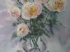Белые розы 1. 2010г. 65Х45